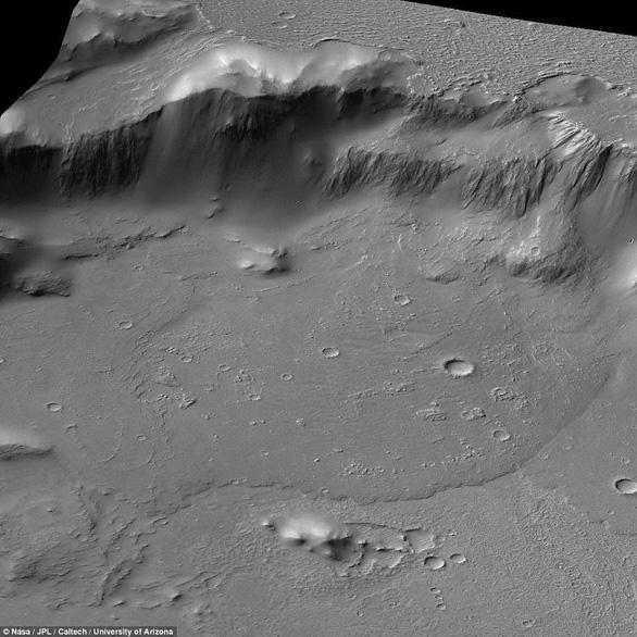 Đụn cát màu xanh bí ẩn trên Sao Hỏa - Ảnh 2.