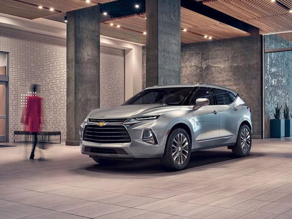 Chevrolet ra mắt mẫu xe nổi tiếng một thời Blazer với nhiều nét mới - Ảnh 1.