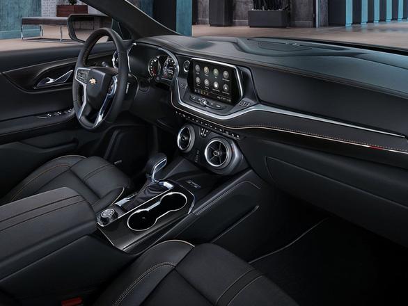 Chevrolet ra mắt mẫu xe nổi tiếng một thời Blazer với nhiều nét mới - Ảnh 6.