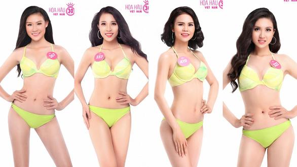 Ngắm trọn bộ ảnh bikini top 30 Hoa hậu Việt Nam 2018 - Ảnh 3.