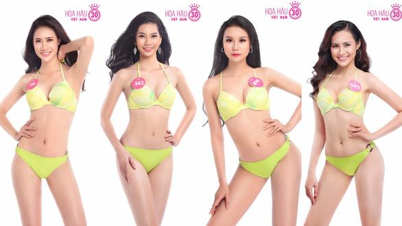 Ngắm trọn bộ ảnh bikini top 30 Hoa hậu Việt Nam 2018 - Ảnh 4.