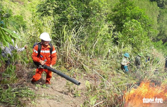 Nghệ An: Cháy rừng thông lây lan ở 3 huyện  - Ảnh 2.