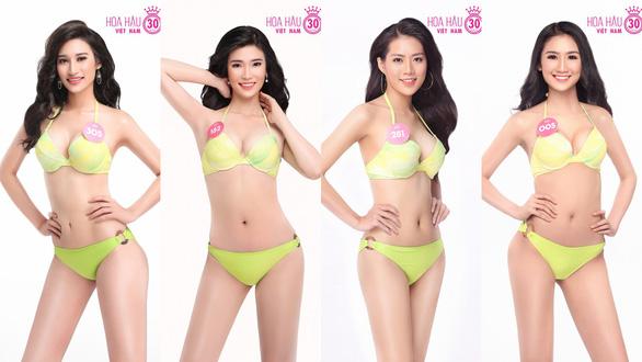 Ngắm trọn bộ ảnh bikini top 30 Hoa hậu Việt Nam 2018 - Ảnh 7.