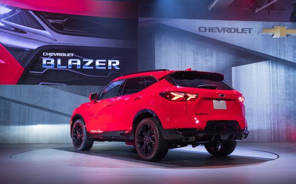 Chevrolet ra mắt mẫu xe nổi tiếng một thời Blazer với nhiều nét mới - Ảnh 4.