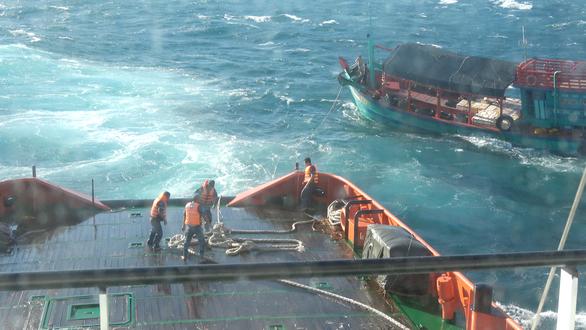 Những cuộc giải cứu nghẹt thở trên sóng biển - Ảnh 1.