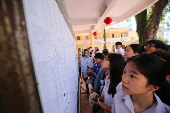Nhiều phụ huynh sốc vì điểm thi văn lớp 10 Hà Nội thấp - Ảnh 1.