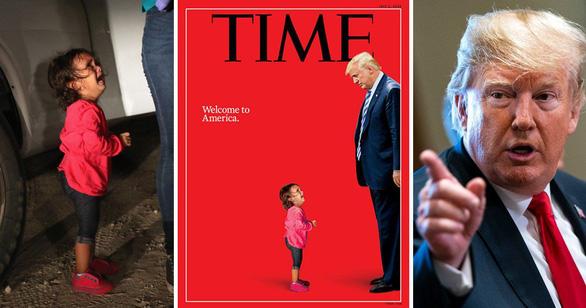 Em bé nức nở trước ông Trump trên bìa Time chỉ là một nửa sự thật - Ảnh 1.