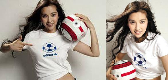 Triệu Vy, Lý Băng Băng, Huỳnh Thánh Y… điên cuồng với bóng đá - Ảnh 2.
