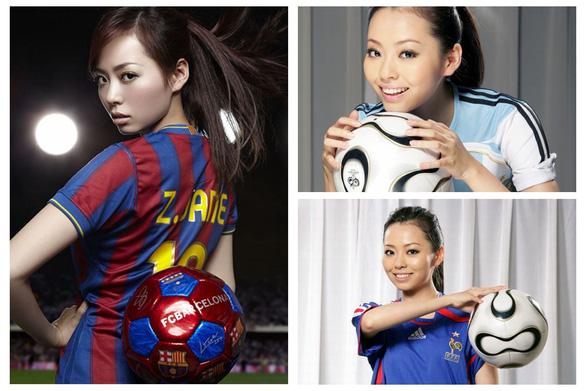 Triệu Vy, Lý Băng Băng, Huỳnh Thánh Y… điên cuồng với bóng đá - Ảnh 8.