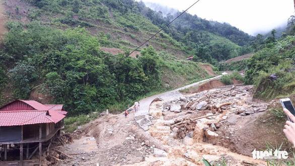 1 người mất tích, 6 người bị thương do mưa lũ miền núi phía Bắc - Ảnh 2.