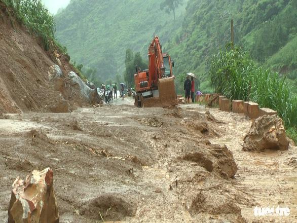 1 người mất tích, 6 người bị thương do mưa lũ miền núi phía Bắc - Ảnh 4.