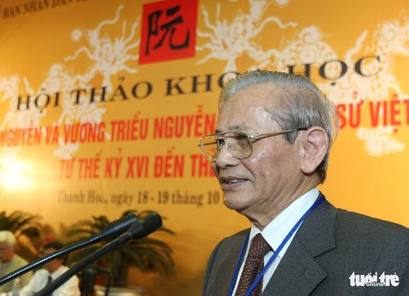 Chia tay giáo sư Phan Huy Lê - người thầy của nền sử Việt - Ảnh 1.