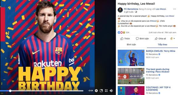 Giữa tâm bão, Messi đón sinh nhật với rừng động viên - Ảnh 5.