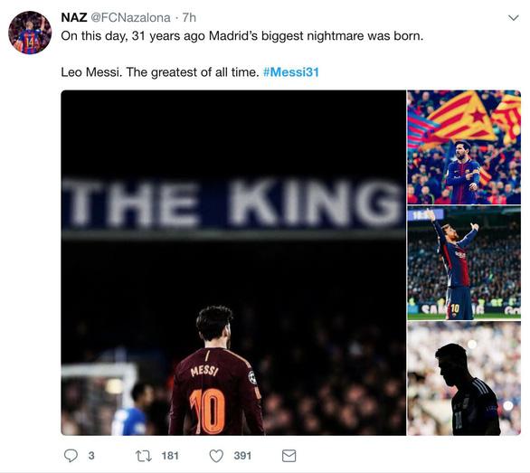 Giữa tâm bão, Messi đón sinh nhật với rừng động viên - Ảnh 8.