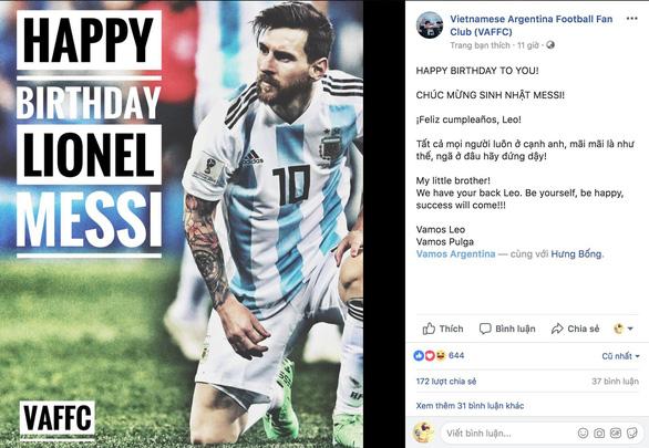 Giữa tâm bão, Messi đón sinh nhật với rừng động viên - Ảnh 10.