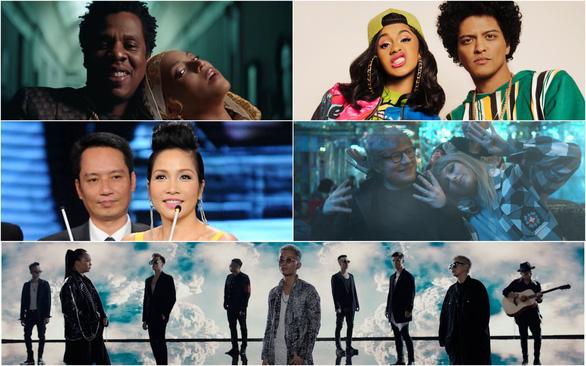 Beyoncé - Jay-Z, Ed - Taylor Swift, Bruno - Cardi B... tri kỷ âm nhạc - Ảnh 1.