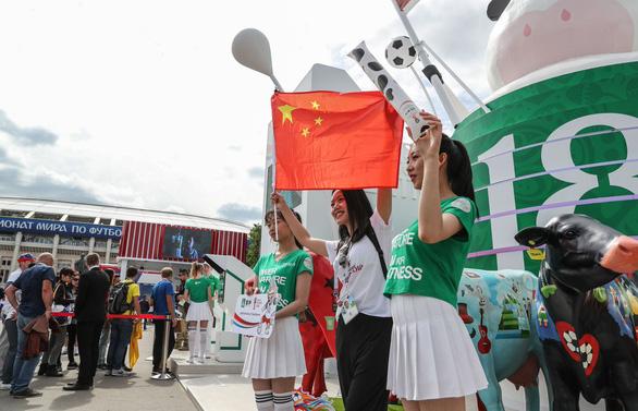 Không lọt vào World Cup, fan Trung Quốc vẫn đông hơn fan Anh tại Nga - Ảnh 3.