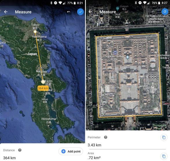 Google Earth giúp người dùng đo khoảng cách và diện tích - Ảnh 2.