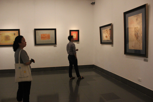 Ngắm những phác thảo lỡ hẹn 10 năm của họa sĩ Nguyễn Gia Trí - Ảnh 4.