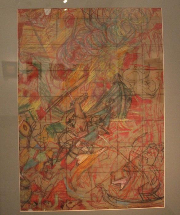 Ngắm những phác thảo lỡ hẹn 10 năm của họa sĩ Nguyễn Gia Trí - Ảnh 7.