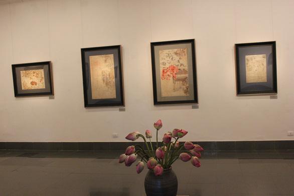 Ngắm những phác thảo lỡ hẹn 10 năm của họa sĩ Nguyễn Gia Trí - Ảnh 5.