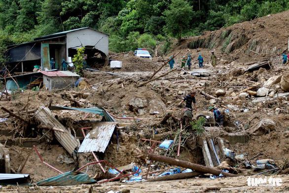 26 người chết và mất tích, tiếp tục cảnh báo lũ quét nhiều nơi - Ảnh 1.