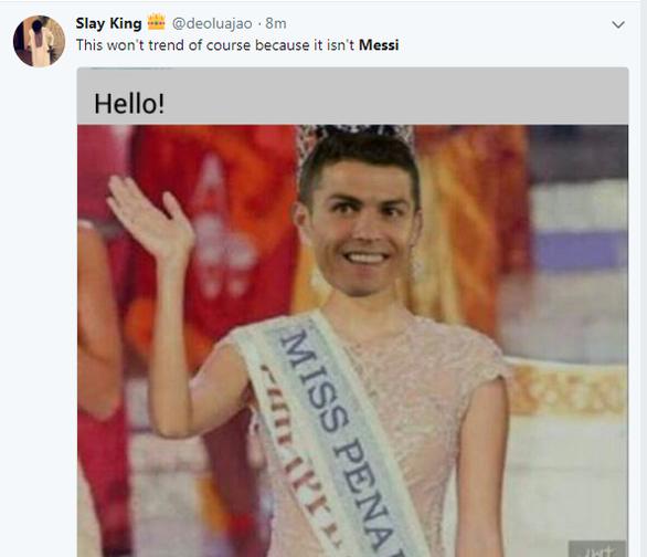 Ronaldo hỏng phạt đền, fan Messi sướng - Ảnh 5.
