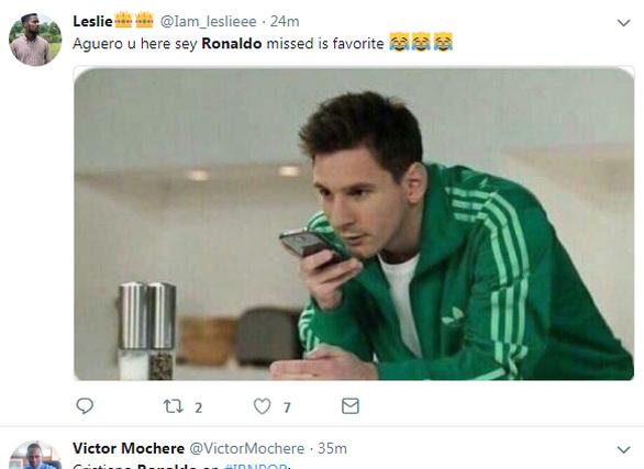 Ronaldo hỏng phạt đền, fan Messi sướng - Ảnh 8.