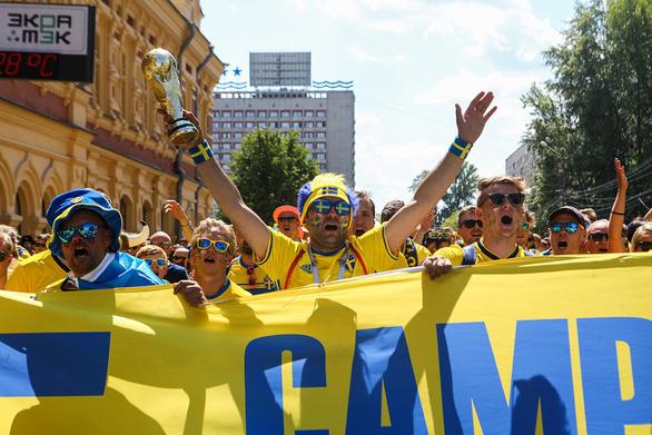 Cổ vũ kiểu Thụy Điển tại World Cup 2018 - Ảnh 3.