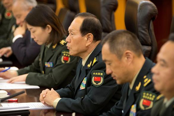 Bộ trưởng Quốc phòng Mỹ dịu giọng, đối thoại tích cực ở Bắc Kinh - Ảnh 3.