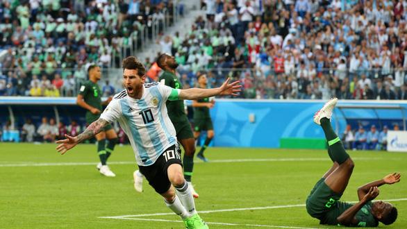 Lập siêu phẩm, Messi bây giờ mới bắt đầu World Cup! - Ảnh 1.