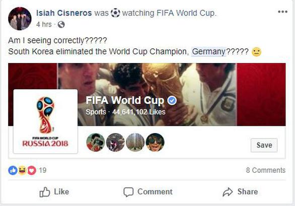 Tuyển Đức thống trị mạng xã hội sau khi bị loại khỏi World Cup - Ảnh 2.