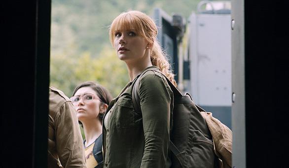 Nữ chính phim Thế giới khủng long - Vương quốc sụp đổ nói về tê giác - Ảnh 1.