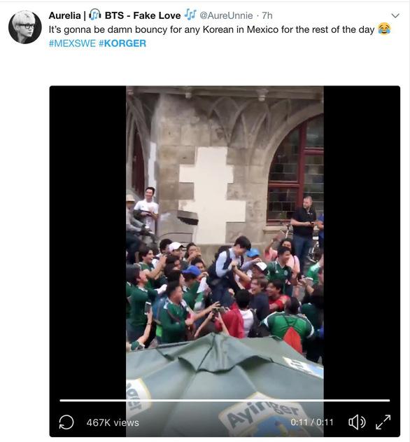 Đội tuyển dắt tay Đức về nước, nhạc Hàn tưng bừng ở Mexico - Ảnh 1.