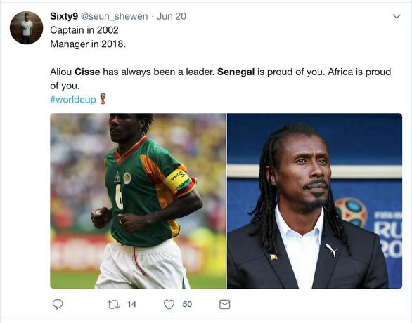 Cisse - HLV đẹp lạ cùng 4 cái nhất tại World Cup 2018 - Ảnh 7.