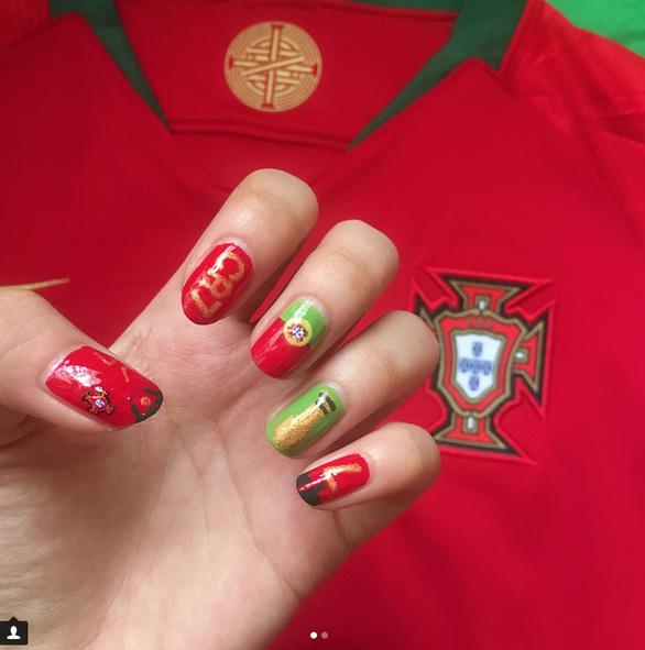 10 bộ nail cực chất cổ vũ vòng 1/8 World Cup - Ảnh 3.
