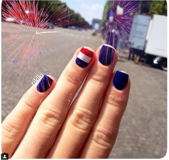 10 bộ nail cực chất cổ vũ vòng 1/8 World Cup - Ảnh 6.
