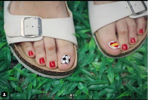 10 bộ nail cực chất cổ vũ vòng 1/8 World Cup - Ảnh 7.