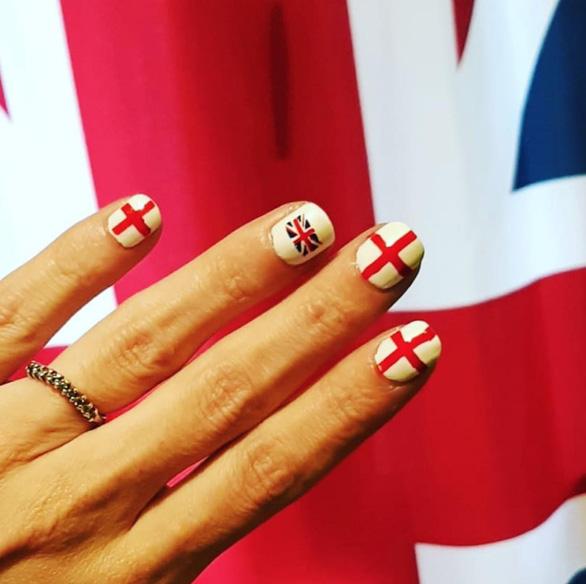 10 bộ nail cực chất cổ vũ vòng 1/8 World Cup - Ảnh 9.