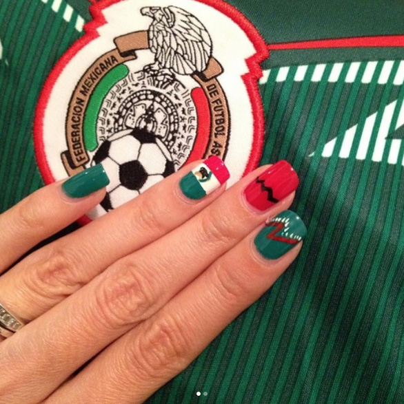 10 bộ nail cực chất cổ vũ vòng 1/8 World Cup - Ảnh 10.