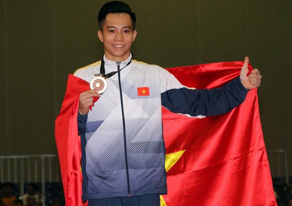 Thể dục dụng cụ Việt Nam lần đầu tiên đoạt 2 HCV tại World Cup - Ảnh 4.