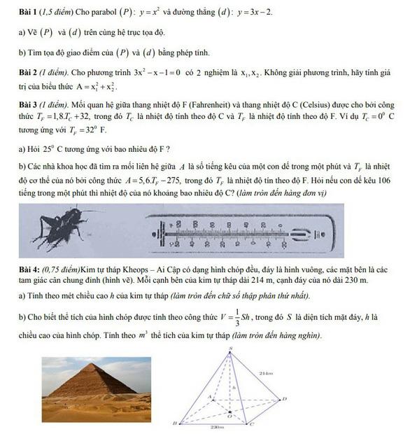 Bài giải môn toán thi tuyển sinh lớp 10 TP.HCM - Ảnh 2.