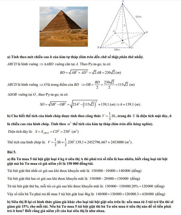 Bài giải môn toán thi tuyển sinh lớp 10 TP.HCM - Ảnh 6.
