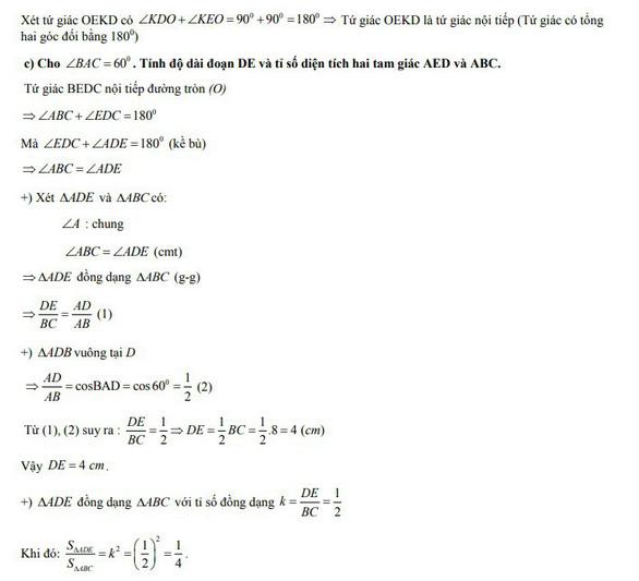 Bài giải môn toán thi tuyển sinh lớp 10 TP.HCM - Ảnh 9.