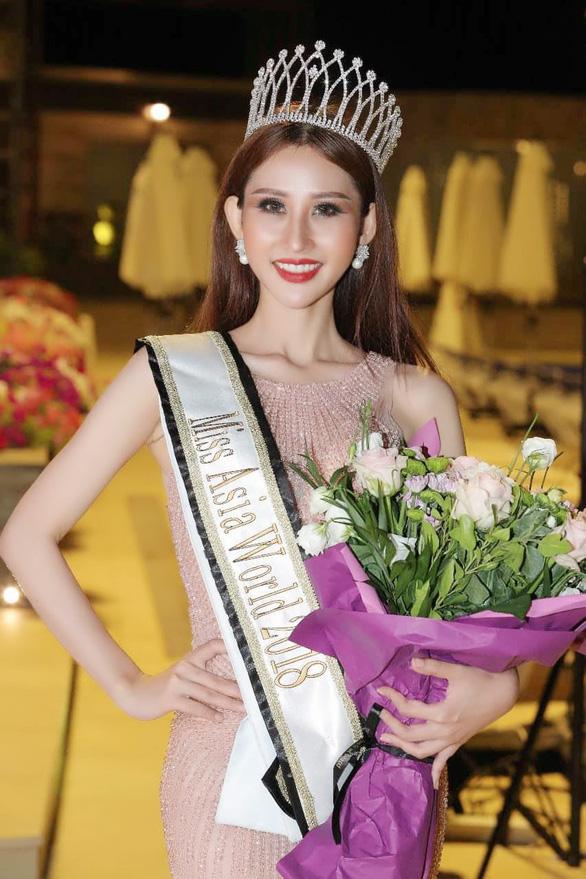 Chi Nguyễn đăng quang Hoa hậu châu Á Thế giới 2018 - Ảnh 2.