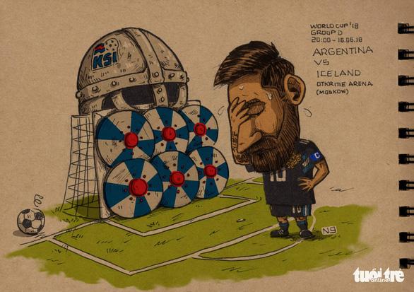 Góc nhìn trào phúng vòng bảng World Cup 2018 - Ảnh 1.