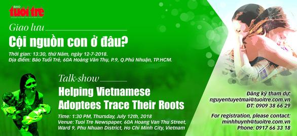 Tìm về cội nguồn nối yêu thương cho những người con nuôi gốc Việt - Ảnh 1.