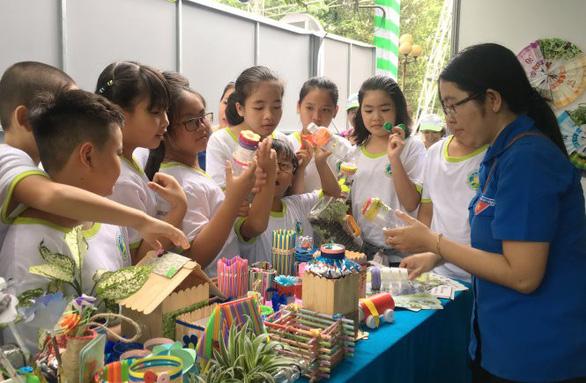 Ngày hội Sống xanh, lan tỏa hành động vì môi trường - Ảnh 1.