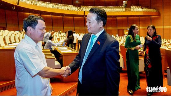 3 lần Bộ trưởng Trần Hồng Hà nói đại biểu 'yên tâm' - Ảnh 2.