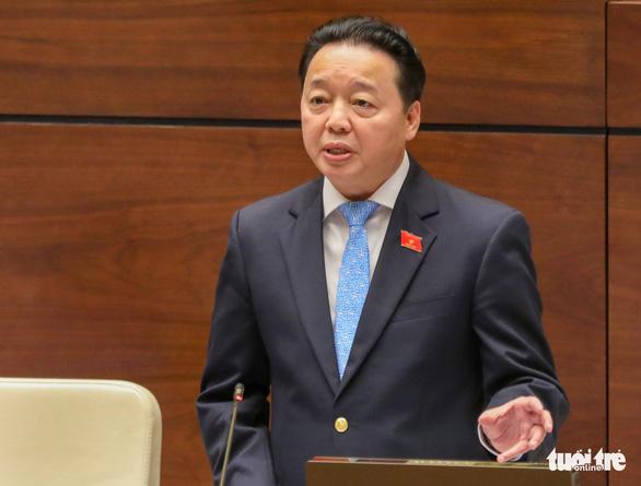 3 lần Bộ trưởng Trần Hồng Hà nói đại biểu 'yên tâm' - Ảnh 3.